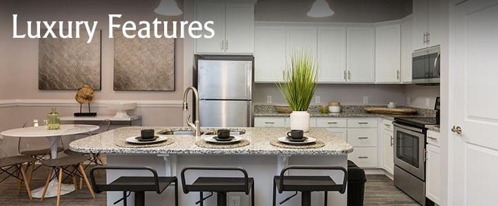 Luxury Harrisonburg Apartment Kitchen