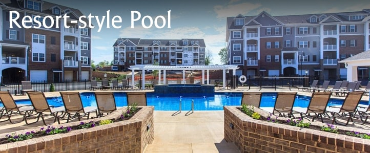 Harrisonburg Apartment Pool
