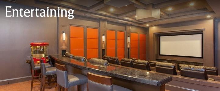 Harrisonburg Apartment Movie Theater