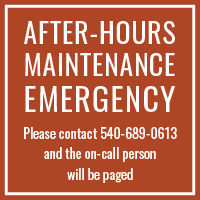 Stone Port Emergency: 540-689-0613