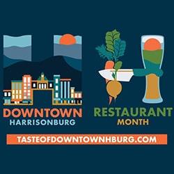 Downtown Harrisonburg Restaurant Month