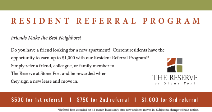 resident referral program