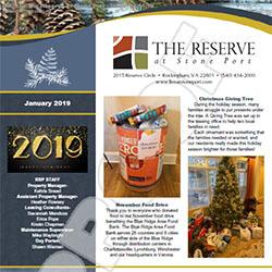 January 2019 Newsletter