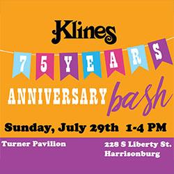 Klines Anniversary Bash