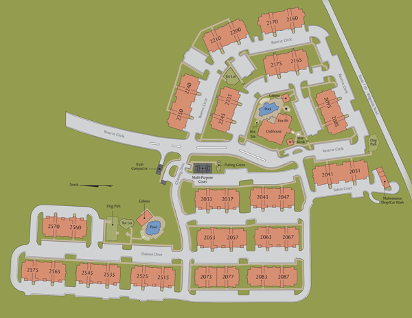 Reserve at Stone Port Site Plan